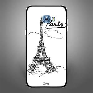 Samsung Galaxy C5 Doodle Eiffel Tower