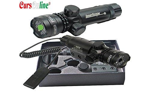 6 opinioni per CursOnline® Puntatore Laser Di Precisione Per Fucile Pistola Caccia Softair Tiro