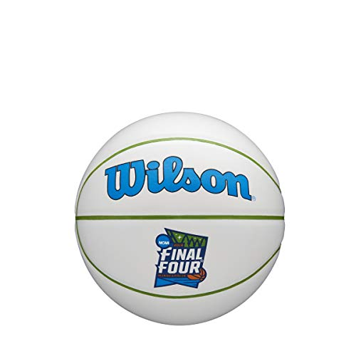 - Wilson NCAA 2019 Final Four March Madness Official Autograph Logo Mini Basketball - Boxed (This is A Mini Basketball)