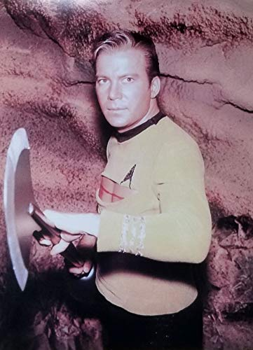 Star Trek William Shatner as Captain Kirk Ready to Fight 11 x 14 inch photo