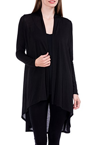 Modern Kiwi Solid Essential Long Cascadi - Cotton Long Cardigan Shopping Results