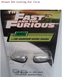 The Fast & The Furious by StreetGlow FFWSRD Red LED Windshield Washer Nozzle