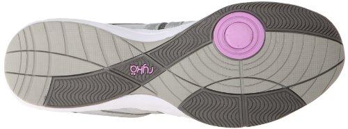 Ryka Moxie de la mujer zapatos ejercicios Chrome Silver/Metallic Steel Grey/Fairy Lavender