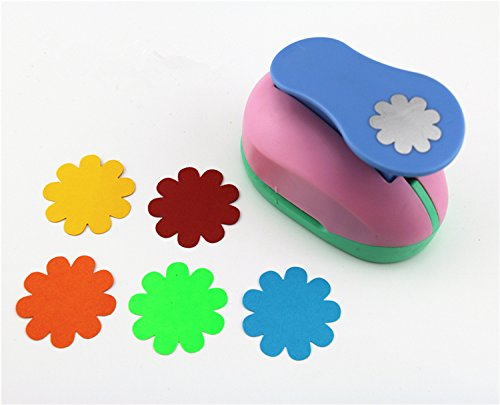 CADY Crafts Punch 1.5-Inch paper punch Craft Punches (Sunflower) - Punch Sunflower