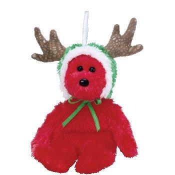 Ty Jingle Beanies 2002 Holiday Teddy