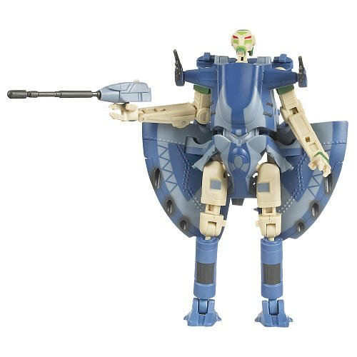 Trade Federation Armored Assault Tank - Hasbro Star Wars 2009 Transformers Battle Droid to Trade Federation AAT Tank