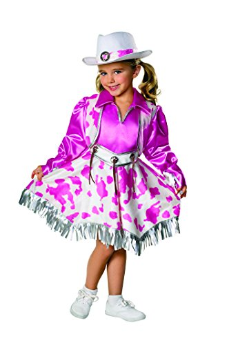 Rubies Let's Pretend Collection Western Diva Costume, Small (Cute Country Girl Halloween Costumes)