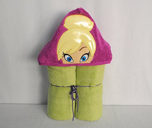 Glow In The Dark!!! Tinker Girl Fairy Hooded Bath Towel - Baby, Child, Tween for $<!--$26.99-->