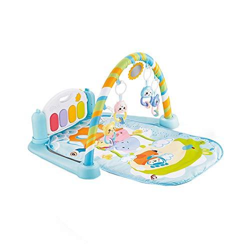 Baby Play Mat,AutumnFall 5 in 1 Baby Light Musical/Gym Play Mat Lay & Play Fitness Fun Piano Boy Girl - Teddy Jigsaw