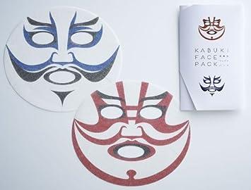 Amazon | 歌舞伎フェイスパック ...