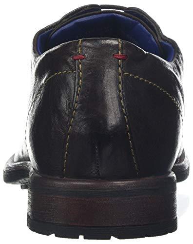 Bugatti dark 6100 13223e 3 Zapatos Marrón Brown De Cordones 11 Derby Para Hombre vvSrqw7