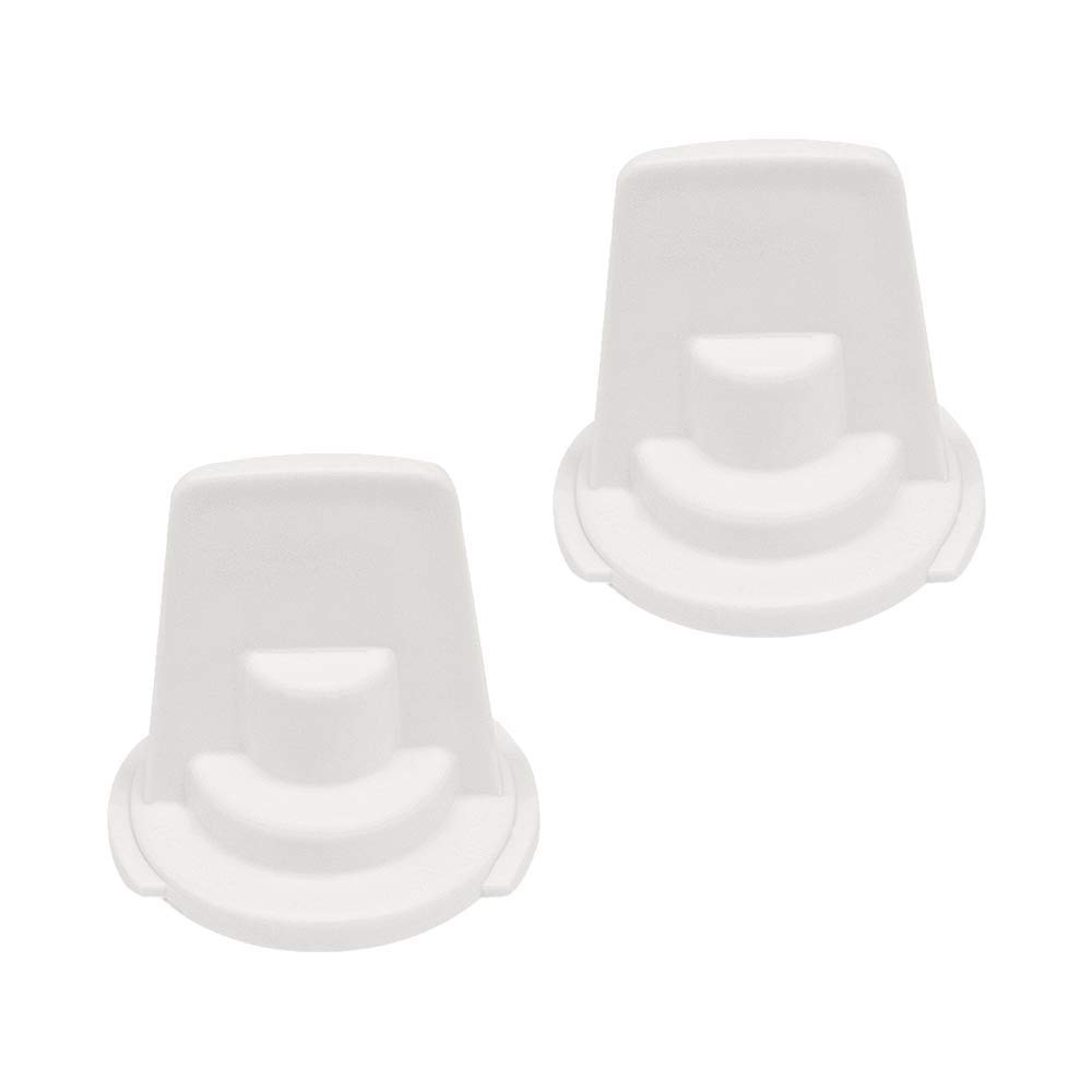 AMI PARTS WR02X11705 Water Filter Bypass Cap Plastic Plug of 2 Pack Replacement Part for General Electric Refrigerators & Freezer Replaces 1038637,AP3425999
