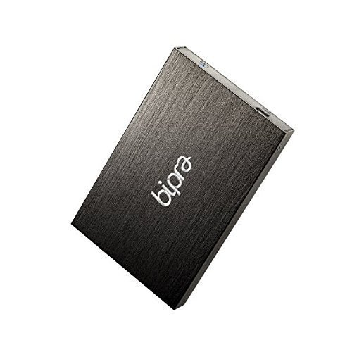 Bipra 500Gb 500 Gb 2.5 Inch External Hard Drive Portable Usb 2.0 - Black - Ntfs by BIPRA