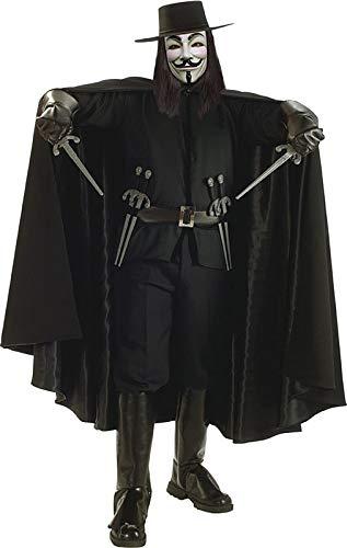 Rubie's Costume Co. 16731 V for Vendetta Cape Costume, Medium, Multicolor]()