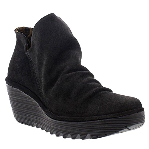 Fly London Vrouwen Yip Boot 035 Dieselolie Suede
