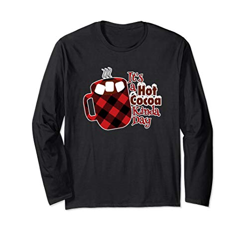 Christmas Hot Chocolate Long Sleeve Hot Cocoa Tshirt