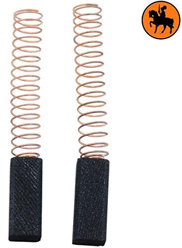 2.4x3.1x5.1 Escobillas de Carb/ón para BLACK /& DECKER P2521A taladro 6,3x8x13,5mm