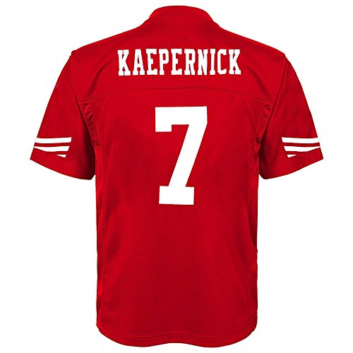 NFL Toddler Kaepernick Mid-Tier Jersey - San Francisco 49ers - (Toddler Nfl Football Jersey)