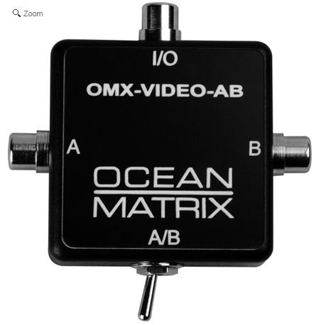 Ocean Matrix Composite Video RCA Input Expander Switch-by-Ocean - Switcher Video Matrix Composite