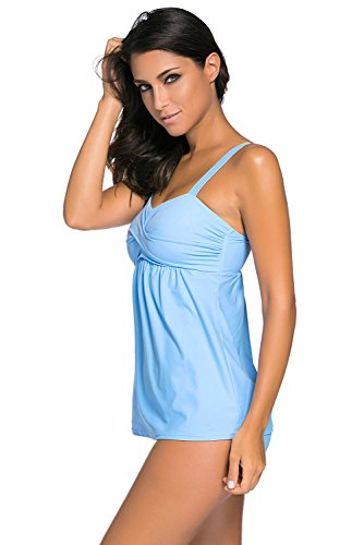 Miss Chica's - Tankini - para mujer Mint Blue