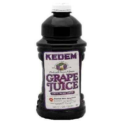Kedem Concord Grape Juice, 64 FO (8 Bottles)