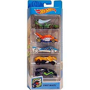 Hot wheels 5 car gift...