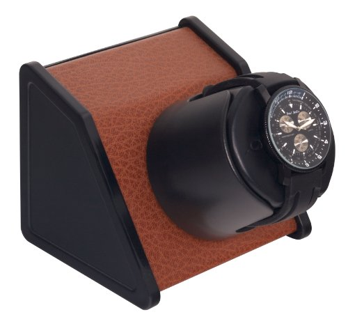 (Sparta 1 Watch Winder in Brown Leatherette by Orbita)