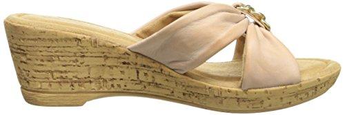 Bella Vita fabricado en Italia Mujer Aquila Sandalias de cuña
