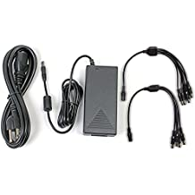 Q-See QSS1250A 12V 5A Camera AC Adapter with 4-Way Power Splitters