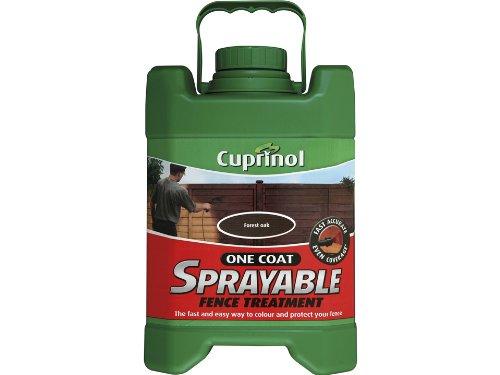 Cuprinol 5L Spray Fence Treatment - Forest Oak 5122430