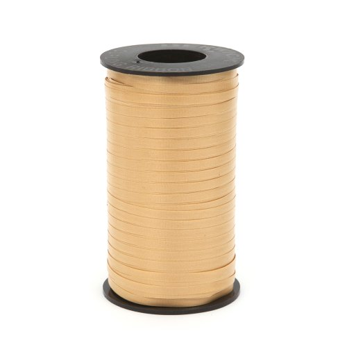 Great Ribbon (Berwick Splendorette Crimped Curling Ribbon, 3/16-Inch Wide by 500-Yard Spool, Gold)