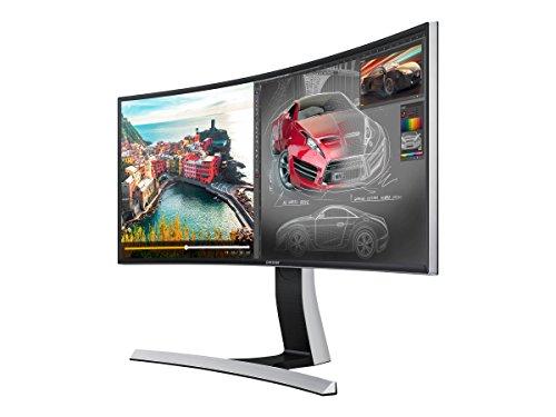 "Samsung S34E790C 34"" Curved HD 21:9 Ultrawide Monitor Glossy Black"