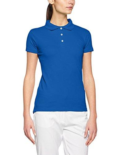 James & Nicholson Elastic Piqué, Polo para Mujer Azul (Royal)