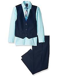 Boys' Vest Set with Tie