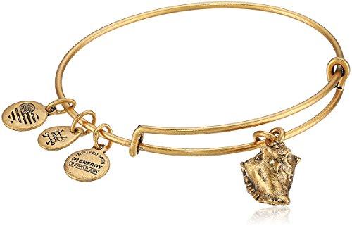 Alex and Ani Conch Shell II EWB, Rafaelian Gold Bangle Bracelet