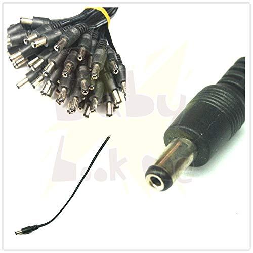 (Gimax 1PCS 5.5x2.5mm DC Power Connector With Cable Tip Plug For Toshiba For IBM For HP For ASUS)