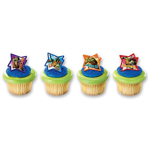 (DecoPac Teenage Mutant Ninja Turtles Cupcake Rings (12)