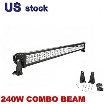 """Primeprolight 42"""" 240W Led Light Bar Combo BEAM Work Light 4WD BOAT TRUCK PICKUP"""