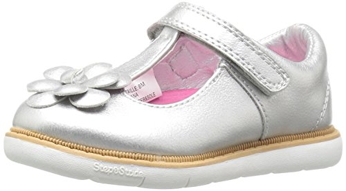 Step & Stride Diana Mary Jane (Infant/Toddler/Little Kid), Silver, 11 M US Little Kid