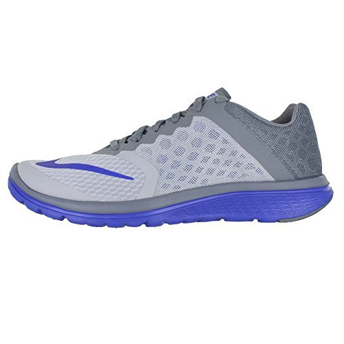 super popular 9cbcf d19c7 Galleon - NIKE MENS NIKE FS LITE RUN 3 SHOES WOLF GREY RACER BLUECOOL GREY  SIZE 8.5