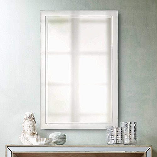 Euro Design Contemporary Mirror - Possini Euro Design Possini Euro Metzeo Chrome 22