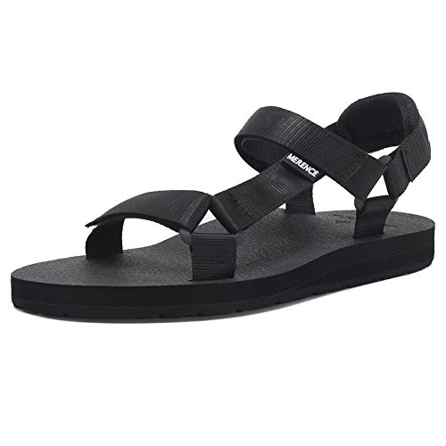 EQUICK Women's Arch Support Sport Sandal Yoga Mat Insole Athletic Shoes Summer Beach Outdoors and House,U219SLX023,N,Balck,41
