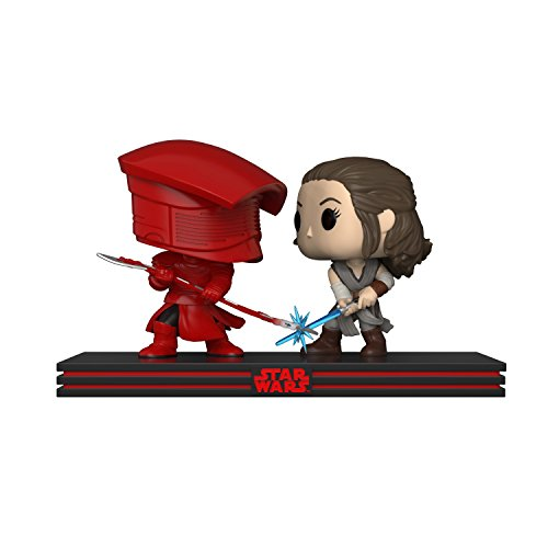 Funko POP! Star Wars Movie Moment: The Last Jedi - Rey and Praetorian Guard