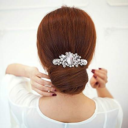 Amazon Com Culturemart Luxury Flower Crystal Rhinestones Diamante