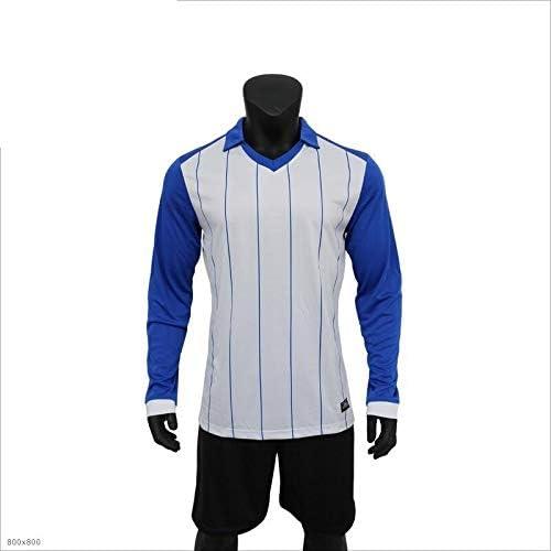 FAN-MODA traje de la ropa del fútbol camiseta de fútbol de manga ...