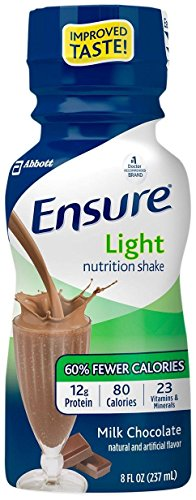 Ensure Light Nutrition Shake Milk Chocolate - 6 PK
