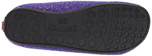 Pantofole Camper Wabi In Mulo Lana Multicolore Viola Donna Da rYrSXC