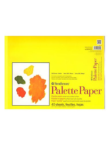 Strathmore Paper Palette Pad 12 in. x 16 in. [PACK OF 2 ] by Strathmore