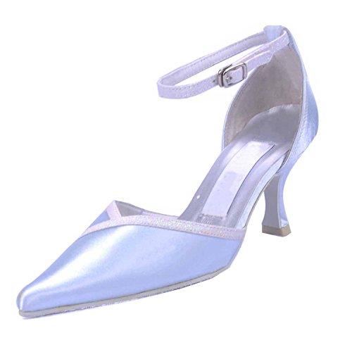 pour Escarpins femme 5cm Heel Minitoo 6 Silver 5SqTwx5dp