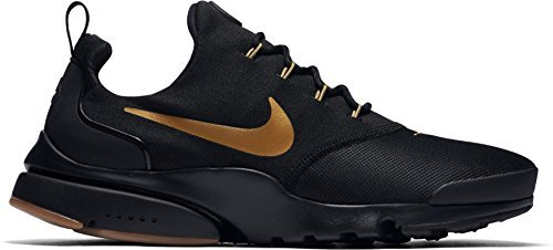 c2ac48b83522 Galleon - Nike Mens Presto Fly Running Shoes Black Metallic Gold Gum  908019-010 Size 13